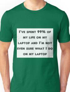 laptop Unisex T-Shirt