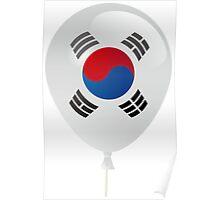 Korean flag Poster