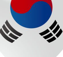 Korean flag Sticker