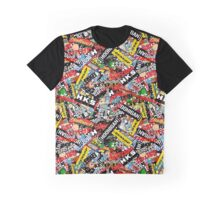 Stickerbomb [Largescale] Graphic T-Shirt