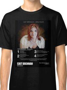 Cait Brennan - Debutante Retrotastic 8-Track Label Tee! Classic T-Shirt