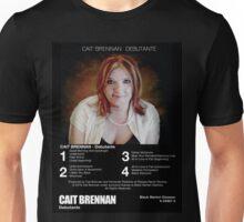 Cait Brennan - Debutante Retrotastic 8-Track Label Tee! Unisex T-Shirt