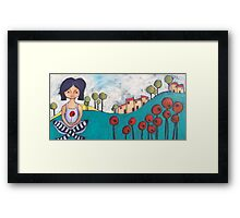The French Fields Framed Print