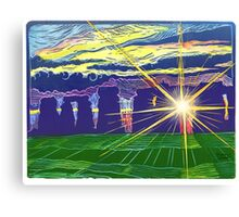 The Portal of Myth and Magic Canvas Print