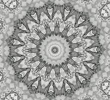 pencil pattern drawing mandala by Heidivaught