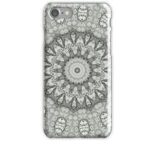 pencil pattern drawing mandala iPhone Case/Skin