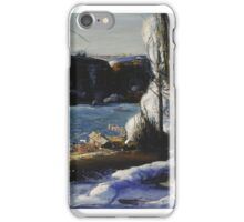 GEORGE WESLEY BELLOWS, ( - ), THE PALISADES iPhone Case/Skin