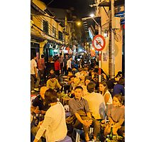 Hanoi Old Quarter Photographic Print