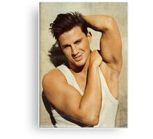 Handsome Channing Tatum by omans Canvas Print