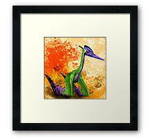 Quetzalcoatlus Framed Print