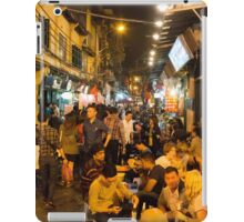 Night Time Hanoi Old Quarter iPad Case/Skin