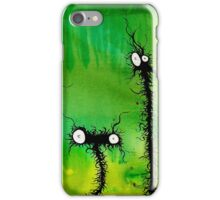 the creatures from the drain painting 4 iPhone Case/Skin