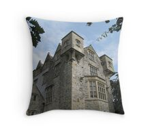Donegal Castle. Throw Pillow