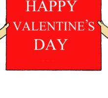 Burlesque Valentine's Day Ladies. Sticker