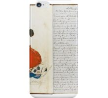 India--Young, William AUTOGRAPH MANUSCRIPT MEMOIR, A SOLDIER'S LIFE AND EXPERIENCES.  iPhone Case/Skin