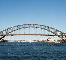 Sydney Harbour Bridge and Opera House by Martin Berry Photography