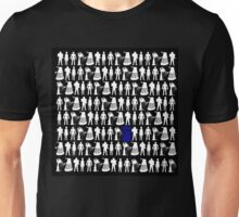 The Tardis amongst enemies Unisex T-Shirt