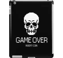 GAME OVER: INSERT COIN iPad Case/Skin