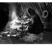 Navajo Silversmith - William J. Carpenter 1915 by TheCurators