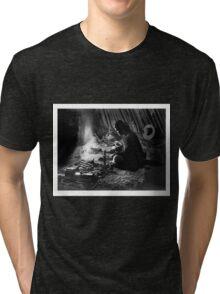 Navajo Silversmith - William J. Carpenter 1915 Tri-blend T-Shirt