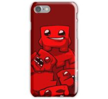 MEATBOY iPhone Case/Skin