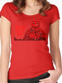 MEATBOY Women's Fitted Scoop T-Shirt