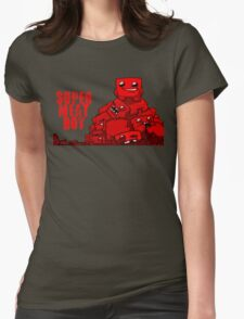 MEATBOY Womens Fitted T-Shirt