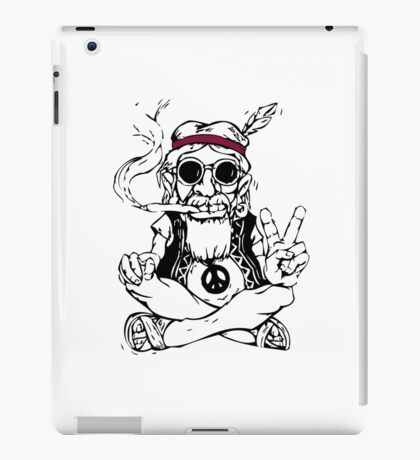 Hippy master iPad Case/Skin