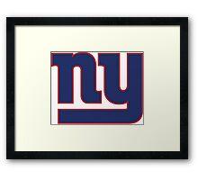 New York Giants Framed Print