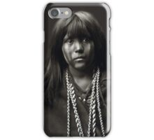 Mosa, A Mojave Woman by Edward S. Curtis iPhone Case/Skin