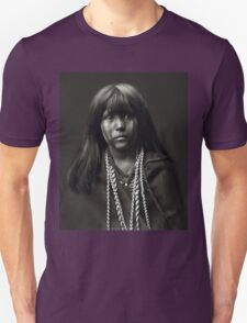 Mosa, A Mojave Woman by Edward S. Curtis Unisex T-Shirt