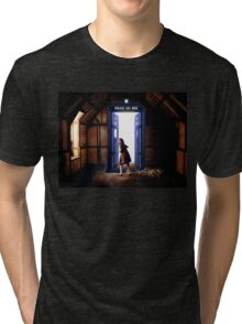 The Lion, The Witch, and The TARDIS Tri-blend T-Shirt
