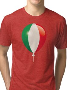 Flag of Italy Tri-blend T-Shirt