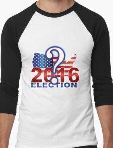 The United States presidential election 2016 Men's Baseball ¾ T-Shirt