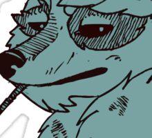 Royal Meerkat Sticker