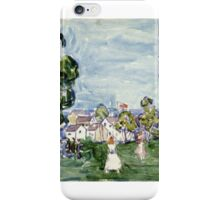 MAURICE BRAZIL PRENDERGAST, - ), SUMMER DAY, NEW ENGLAND iPhone Case/Skin