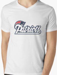 Patriots Mens V-Neck T-Shirt