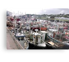 Traffic Jam - Greencastle Co. Donegal Ireland Metal Print