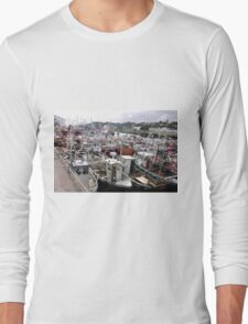 Traffic Jam - Greencastle Co. Donegal Ireland Long Sleeve T-Shirt
