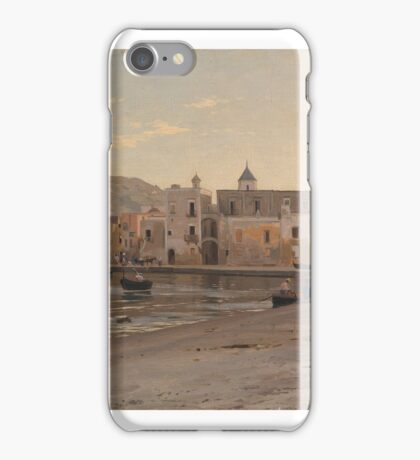ORLOVSKY, VLADIMIR (-Harbour Scene.  iPhone Case/Skin