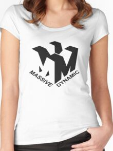 Massive Dynamic Women's Fitted Scoop T-Shirt