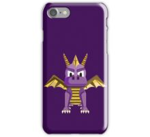 Spyro vector character fanart iPhone Case/Skin