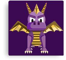 Spyro vector character fanart Canvas Print
