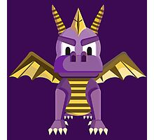Spyro vector character fanart Photographic Print