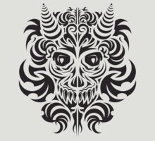 SKULL ORNAMEN by artchastudio