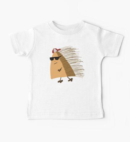 Weekend Hedgehog  Baby Tee