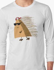 Weekend Hedgehog by Anne Winkler Long Sleeve T-Shirt