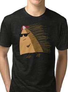 Weekend Hedgehog by Anne Winkler Tri-blend T-Shirt