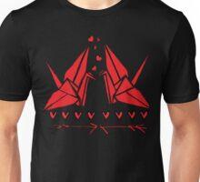 Origami birds Unisex T-Shirt