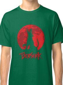 Berserk Wolf Full Moon Classic T-Shirt